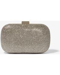 Karen Millen - Glitter Box Clutch Bag - Lyst