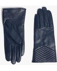 Karen Millen - Quilted Gloves - Lyst