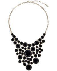 Karen Millen | Geo Disk Necklace | Lyst