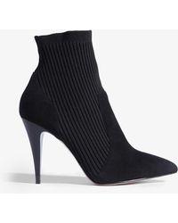 Karen Millen - Knitted Sock Boots - Lyst