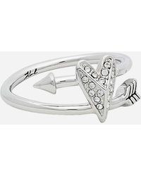 Karl Lagerfeld - K/hearts And Arrows Ring - Lyst