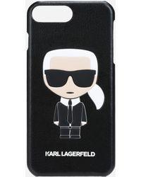 Karl Lagerfeld - Karl Ikonik Embossed Iphone 7 Plus Case - Lyst