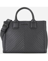 Karl Lagerfeld - K/klassik Quilted Leather Tote Bag - Lyst