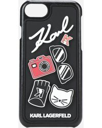 Karl Lagerfeld - 3d Pins Iphone 8 Case - Lyst