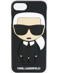 Karl Lagerfeld - K/ikonik Karl 3d Iphone + Case - Lyst