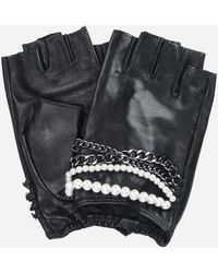 Karl Lagerfeld - K/chain Fingerless Gloves - Lyst