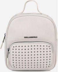 Karl Lagerfeld - K/korat Studs Backpack - Lyst