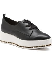 Karl Lagerfeld - Bali Lace Up Wedge Sneakers - Lyst