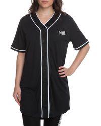 NANA JUDY - The Serenade Baseball Jersey In Black - Lyst