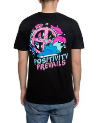 21750c41 Pink Dolphin - The Men's Positivity Prevails Tee - Lyst