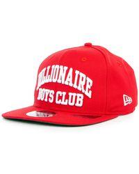 BBCICECREAM - Bent Snapback Hat In Scarlett - Lyst 09b31442ad2e