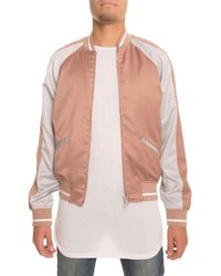 ff1f83860b27 Lifted Anchors - The Strickland Souvenir Jacket In Champagne - Lyst