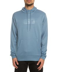 Hall of Fame - The Logo Press Hoody In Slate - Lyst
