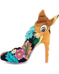 b51e414da Irregular Choice - Disney s Bambi X Prince Of The Forest High Heels - Lyst