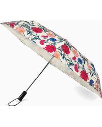 Kate Spade - Travel Blossom Travel Umbrella - Lyst