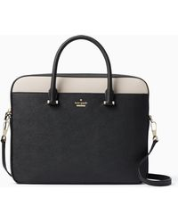 Kate Spade - 13-inch Saffiano Laptop Bag - Lyst