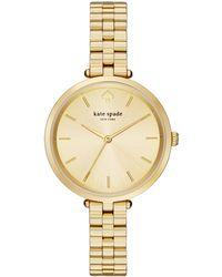 Kate Spade | Holland Skinny Bracelet Watch | Lyst