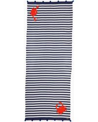 Kate Spade - Hanging Crab Oblong Scarf - Lyst