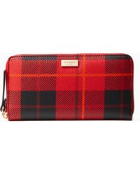 Kate Spade - Brightwater Drive Woodland Plaid Neda - Lyst