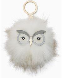 Kate Spade | Snowy Owl Pouf | Lyst