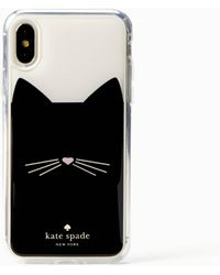 Kate Spade - Cat Hands Free Iphone X & Xs Case - Lyst