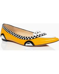 Kate Spade - Go Taxi Flats - Lyst