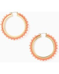 Kate Spade - Wrap It Up Hoops - Lyst