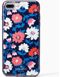 Kate Spade - Jewelled Daisy Iphone 7/8 Plus Case - Lyst
