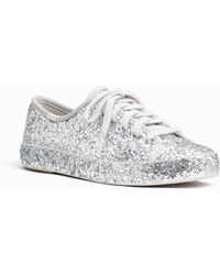 Kate Spade - Keds X All-over Glitter Trainers - Lyst