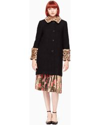 Kate Spade | Jewel Button Boucle Coat | Lyst