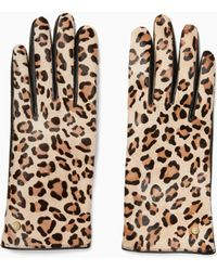 Kate Spade - Calf Hair Leather Glove - Lyst