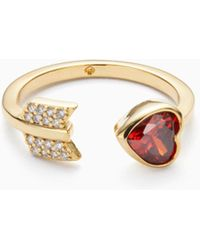 Kate Spade - Romantic Rocks Ring - Lyst