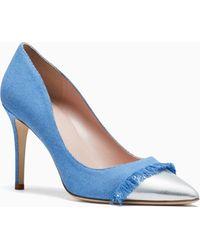 20bb61f69b2d Kate Spade Baneera Heels in Pink - Lyst