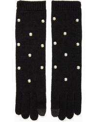 Kate Spade - Pearl Gloves - Lyst