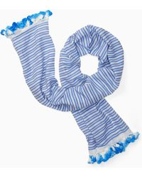 Kate Spade - Candy Stripe Woven Oblong - Lyst