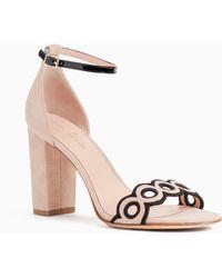 Kate Spade - Orson Block-heel Sandals - Lyst