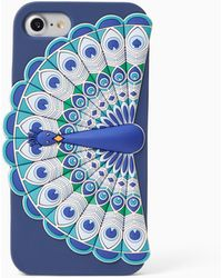sports shoes 6b422 8a27f Silicone Peacock Iphone 7 Case