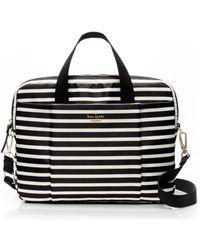 Kate Spade   Classic Nylon Stripe Laptop Commuter Bag   Lyst