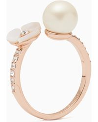 Kate Spade | Disco Pansy Ring | Lyst