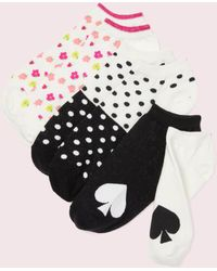 Kate Spade - Floral No-show Sock Set - Lyst