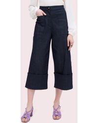 ef2c7ce5068b Kate Spade Broome Skinny Street Jeans in Black - Lyst