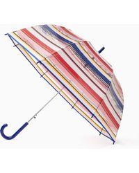 Kate Spade - Berber Stripe Bubble Umbrella - Lyst