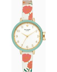 Kate Spade - Silicone Park Row Watch - Lyst