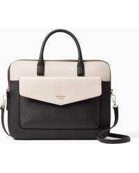 "Kate Spade - 13"" Double Zip Laptop Bag - Lyst"