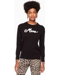 Kate Spade - Meow Sweater - Lyst