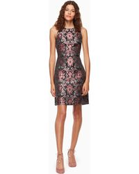 ace61c16db238 Lyst - Ted baker Tapestry Floral Full Dress