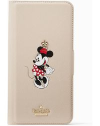 Kate Spade - For Minnie Mouse Folio Iphone 7 Plus Case - Lyst