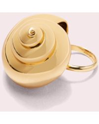Kate Spade - Under The Sea Shell Statement Ring - Lyst