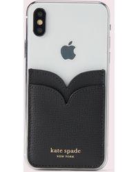 Kate Spade Sylvia Double Sticker Phone Pocket