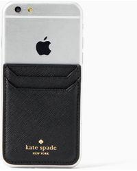 Kate Spade - Triple Sticker Pocket - Lyst